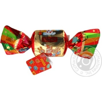 Подарунок нов.цук.Рошен Святкова цукерка №5 400г - купить, цены на Novus - фото 2