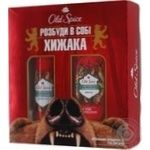 Подарочный набор Old Spice BearGlove дезодорант аэрозольный + гель для душа 250мл