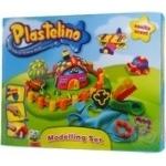 Набор для лепки Plastelino 9пр шт