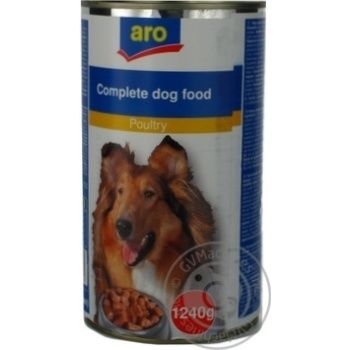 Aro Canned With Poultry Meat Food For Dogs - buy, prices for Metro - image 4