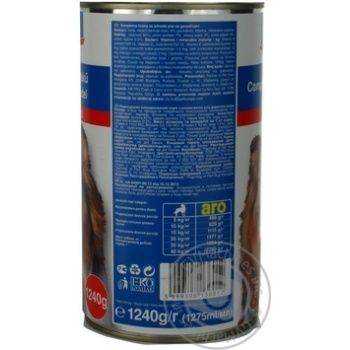 Aro Canned With Beef Food For Dogs - buy, prices for Metro - image 2