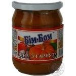 Vegetables Bim-bom vegetable canned 460g glass jar