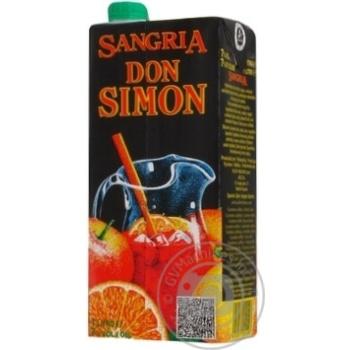 Вино Don Simon Sangria красное сладкое 7% 1л