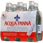 Still water Acqua Panna glass bottle 250ml