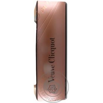 Шампанское Veuve Cliquot Ponsardin Vintage Rose Brut розовое сухое 12% 0,75л - купить, цены на Novus - фото 3