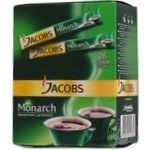 Natural instant sublimated coffee Jacobs Monarch stick sachet 2g Germany