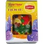 Чай черный Lipton Mild Ceylon + новогодний шарик 50г