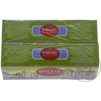 Чай Hyleys зеленый с мятой 25пак - купить, цены на МегаМаркет - фото 2