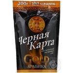 Кава Чорна Карта арабіка розчинна 200г Росія