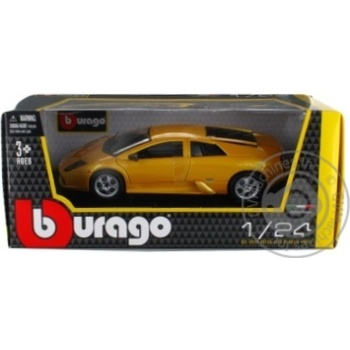 Машинка Play Smart Burago Lamborghini Murcielago 6510B - купить, цены на Фуршет - фото 1