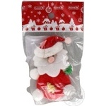Підвіска новорічна Дід Мороз ПіонеR 10см 90630-PN