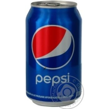 Beverage Pepsi strongly carbonated 330ml can