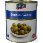 Оливки зелені Aro без кісточки 2800г
