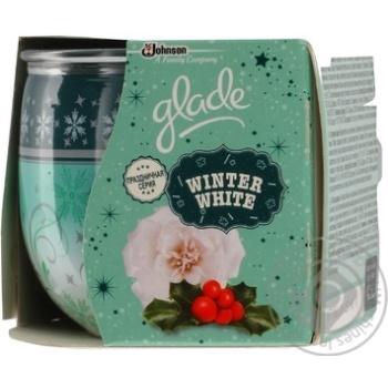 Свічка ароматизована Glade Winter White