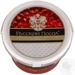Caviar Russkij posol trout red grain-growing 800g bucket