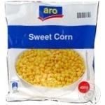 Кукурудза Aro в зернах солодка десертна свіжозаморожена 400г