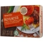 SmaCom frozen with puree chicken cutlet 380g
