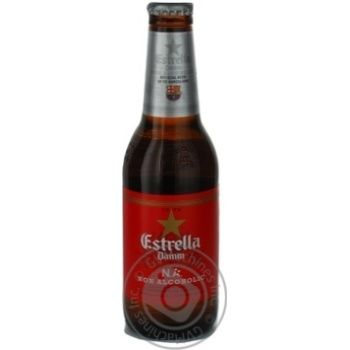 Beer Estrella non-alcoholic 0% 250ml glass bottle Spain - buy, prices for Novus - image 3