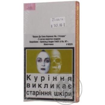 Сигары Vasco Da Gama Claro №2 - купить, цены на Novus - фото 2