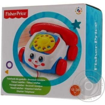 FISHER PRICE ВЕСЕЛИЙ ТЕЛЕФОН