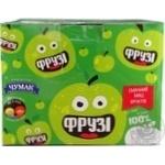 Smoothie Chumak Fruzi apple 65g tetra pak Ukraine