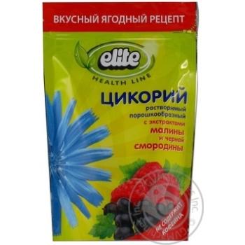 Цикорий растворимый Elite с экстрактами малины и черной смородины 95г
