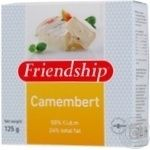 Cheese camembert Friendship soft 50% 125g