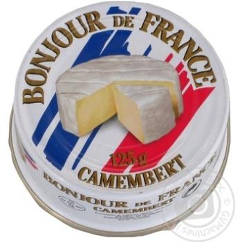 Сыр Бонжур дэ Франс Камамбер 50% 125г