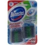 Кубик чистящий Domestos Зеленый лайм для сливного бачка 50г х 2шт Польша