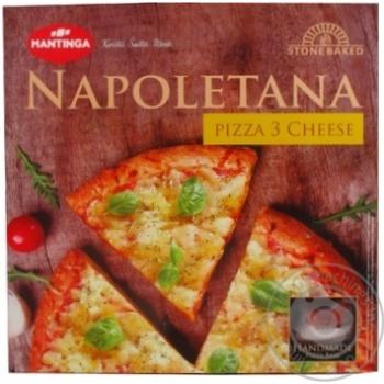 Пицца Mantinga Napoletana Три сыра быстрозамороженная 305г - купить, цены на Ашан - фото 3