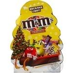 Набор подарочный M&M's and Friends Новогодняя елка 125г
