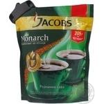 Кофе Якобс Монарх натуральный растворимый сублимированный 205г дой-пак