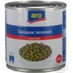Vegetables pea Aro canned 420g can