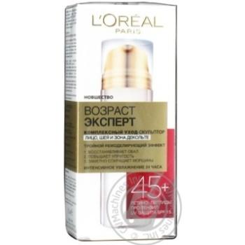 Крем-догляд обл/шиї/декол L'Oreal ВікЕксперт 45+ 50мл