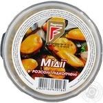 Seafood mussles Flagman smoked 200g