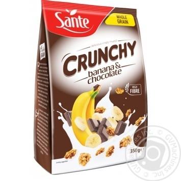 Sante Banana and Chocolate Cranchy 350g - buy, prices for CityMarket - photo 1