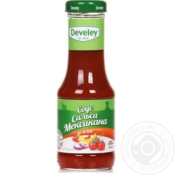 Sauce Develey Salsa for meat 200g glass bottle - buy, prices for Novus - image 1