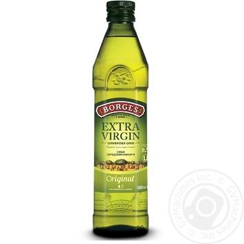 Масло Боргес оливковое экстра вирджин 500мл - купить, цены на Novus - фото 1