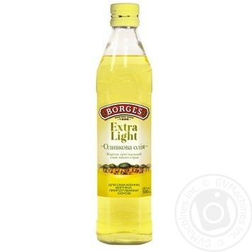 Масло оливковое Borges Extra Light 0,5л - купить, цены на Novus - фото 1