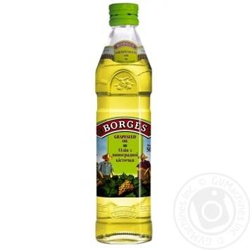Масло Боргес из виноградных косточек 500мл - купить, цены на Novus - фото 1