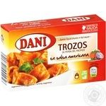 Seafood squid Dani pieces 106g