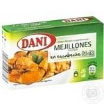 Dani Chilean Mussels in Spanish Sauce 13-18pcs 106g