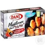 Seafood mussles Dani canned 106g - buy, prices for Novus - image 1