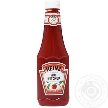 Кетчуп Heinz Томатный острый 500мл - купить, цены на Novus - фото 1