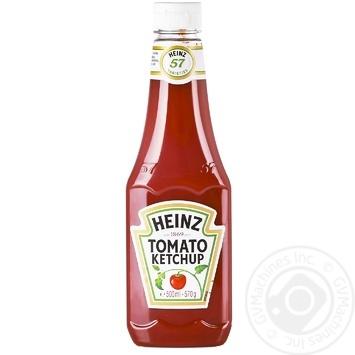Кетчуп Heinz Томатный 500мл - купить, цены на МегаМаркет - фото 1