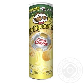 Чипсы Pringles Сыр 165г - купить, цены на МегаМаркет - фото 2