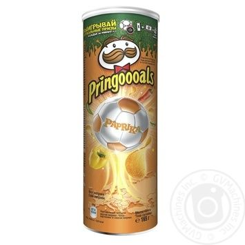 Pringles paprika chips 165g - buy, prices for Novus - image 2