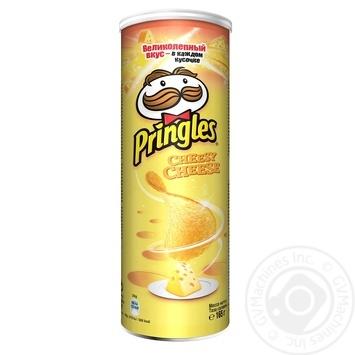 Чипсы Pringles Сыр 165г - купить, цены на МегаМаркет - фото 1