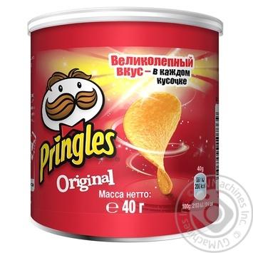 Чіпси Pringles Original 40г - купити, ціни на Novus - фото 1