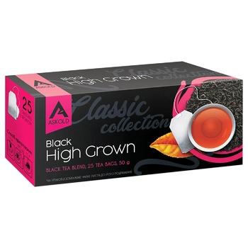 Чай черный Askold Високогірний 2г х 25шт